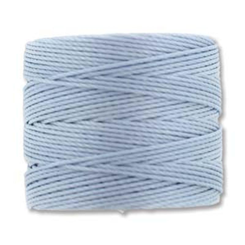 S-Lon Bead Cord, Blue Morning (TEX 210, Medium Weight) (77 yd)