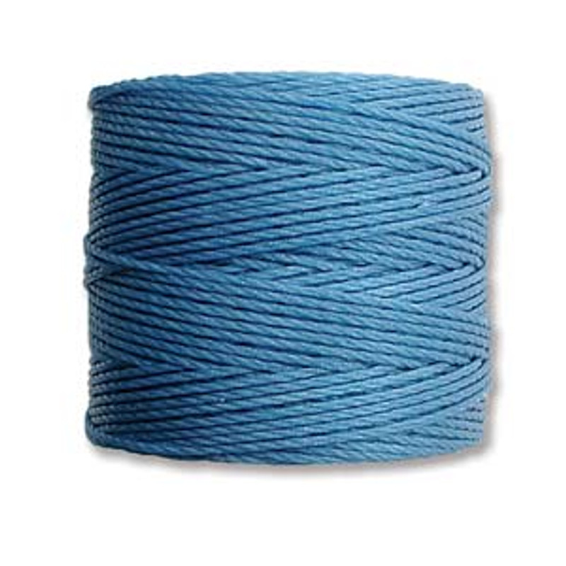 S-Lon Bead Cord, Carolina Blue (TEX 210, Medium Weight) (77 yd)