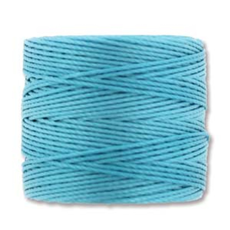 S-Lon Bead Cord, Nile Blue (TEX 210, Medium Weight) (77 yd)