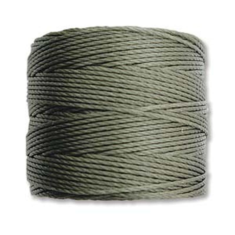 S-Lon Bead Cord, Olive (TEX 210, Medium Weight) (77 yd)