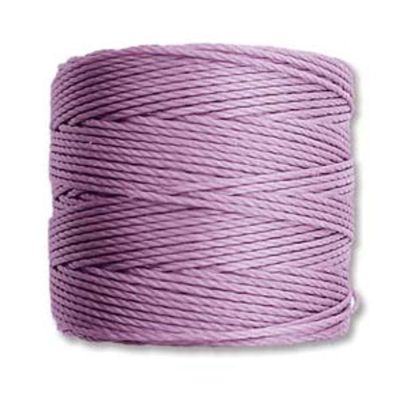 S-Lon Bead Cord, Orchid (TEX 210, Medium Weight) (77 yd)