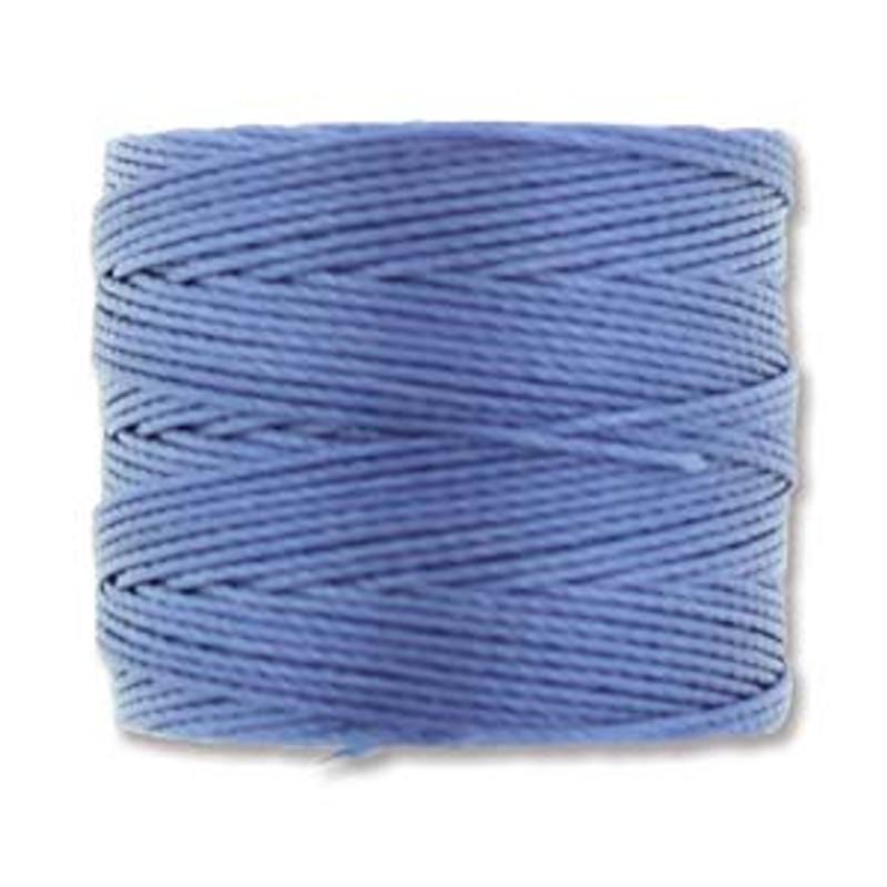 S-Lon Bead Cord, Periwinkle (TEX 210, Medium Weight) (77 yd)
