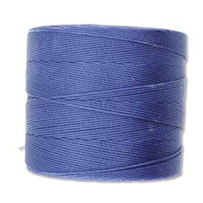 S-Lon Bead Cord, Capri Blue  (TEX 70, Micro Weight) (262 yd)