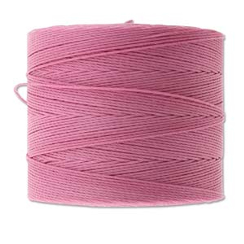 S-Lon Bead Cord, Light Orchid  (TEX 70, Micro Weight) (262 yd)