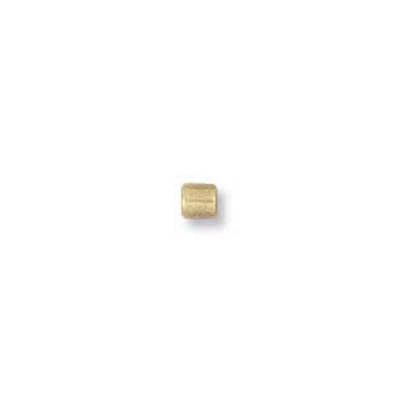 Crimps, Gold Filled, 2x2 tube (Qty: 20)