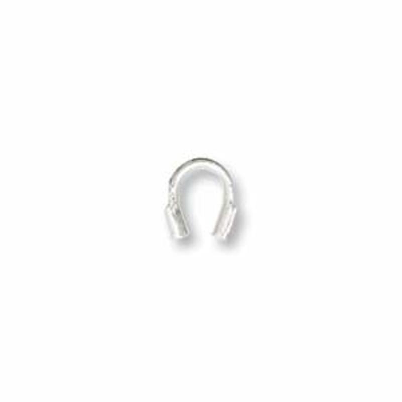 Wire Guard, Silver Tone, 4mm (Qty: 20)