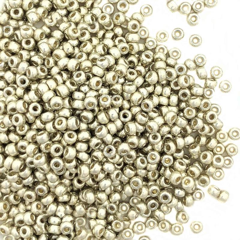 8-D4201, Duracoat Silver (Miyuki) (28 gr.)