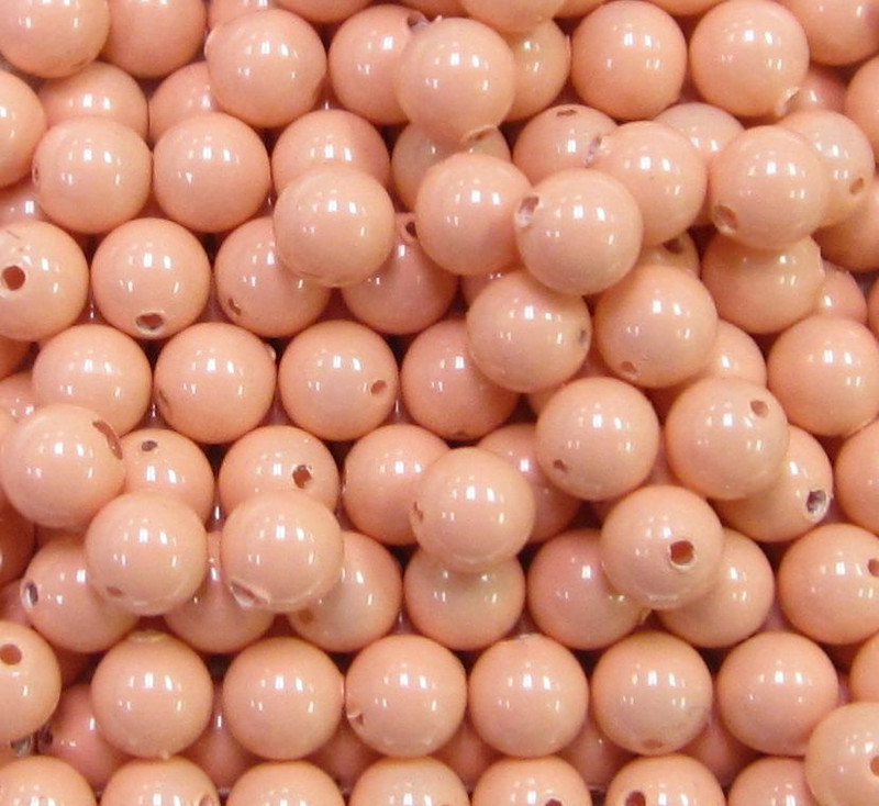 4mm Swarovski Pearls, Pink Coral (Qty: 50)