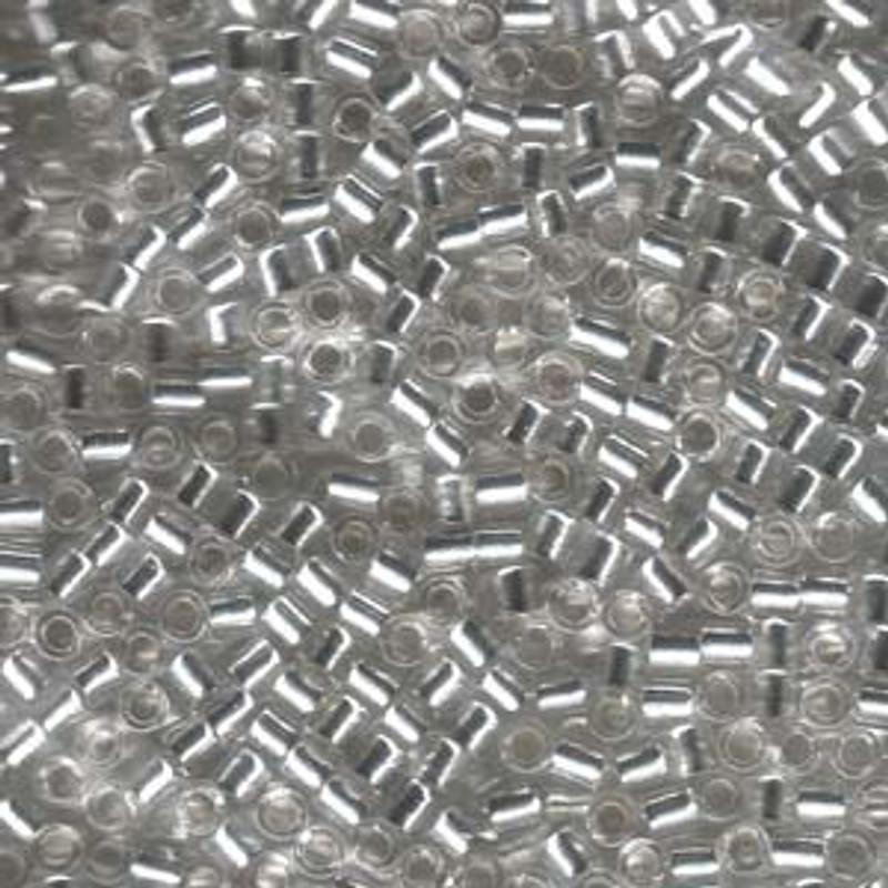 8-DBL-0041, Silver-Lined Crystal (10 gr.)