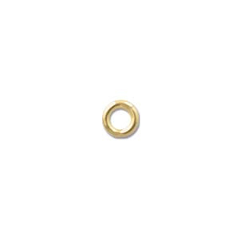 4mm Closed Jump Rings, Gold-Filled (Qty: 8)