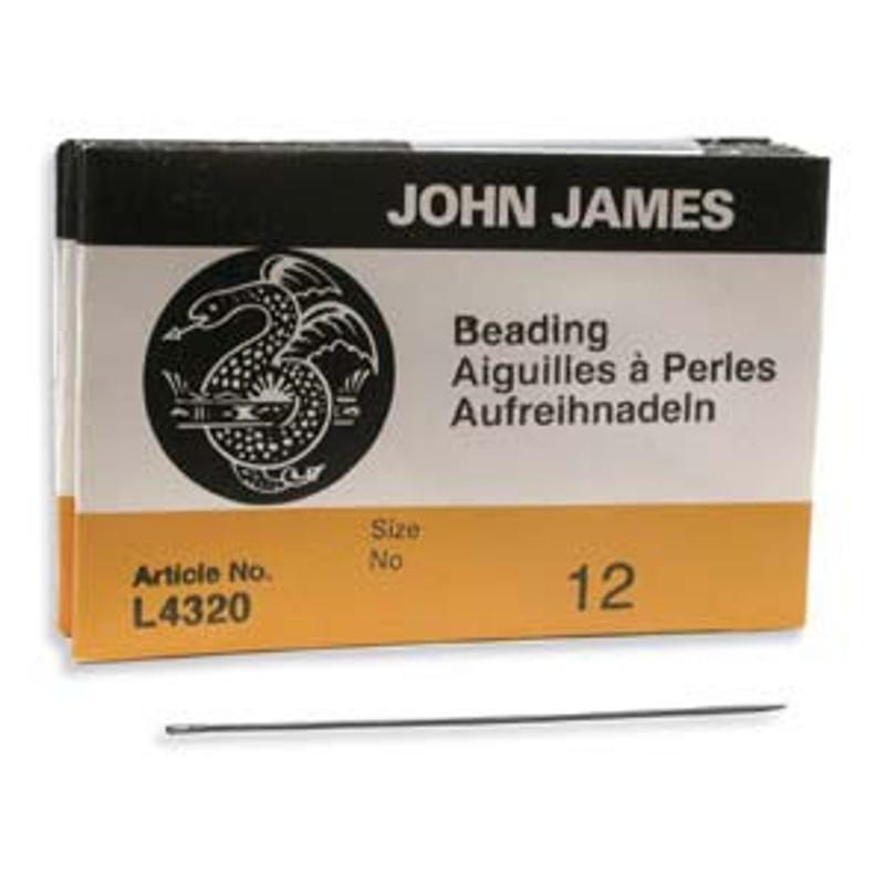 John James Needles - Size 12 (Pkg. of 25)