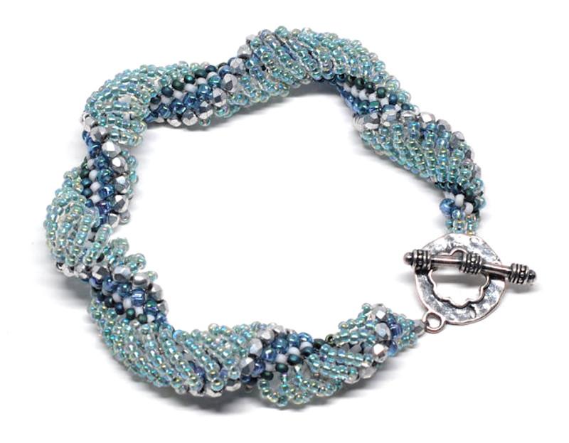 Jubilation Bracelet or Necklace Instructions Only (Dutch Spiral)
