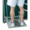 Baseball batting cage Coach's Viewing Platform