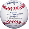 MacGregor #78 Official Dixie Boys Majors Baseballs