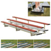 aluminum bleachers 2 Row 21' Powder Coated Preferred  (seats 28)
