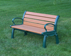 Heritage Recycled Plastic Outdoor and Park Bench - 4'