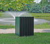 Heavy Duty Square Receptacle - 55 gallons