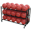 Double Monster Basketball Ball Cart