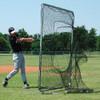 Baseball Collegiate Sock Net and Frame Protector Screen