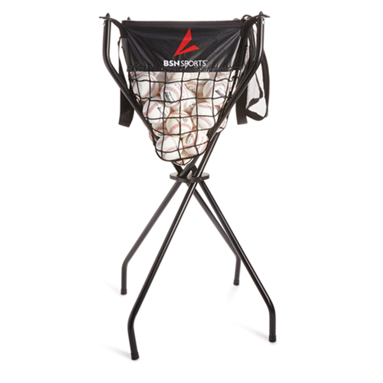 BSN Sports Folding Ball Cart