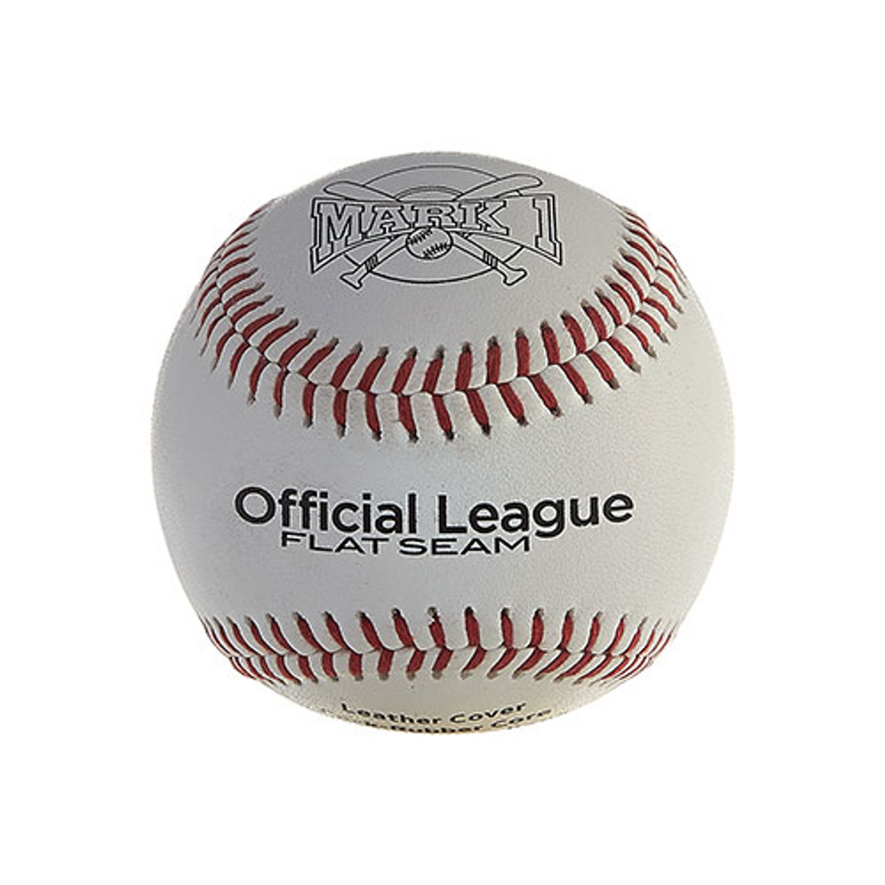 Mark 1 Official League Flat-Seam Baseballs