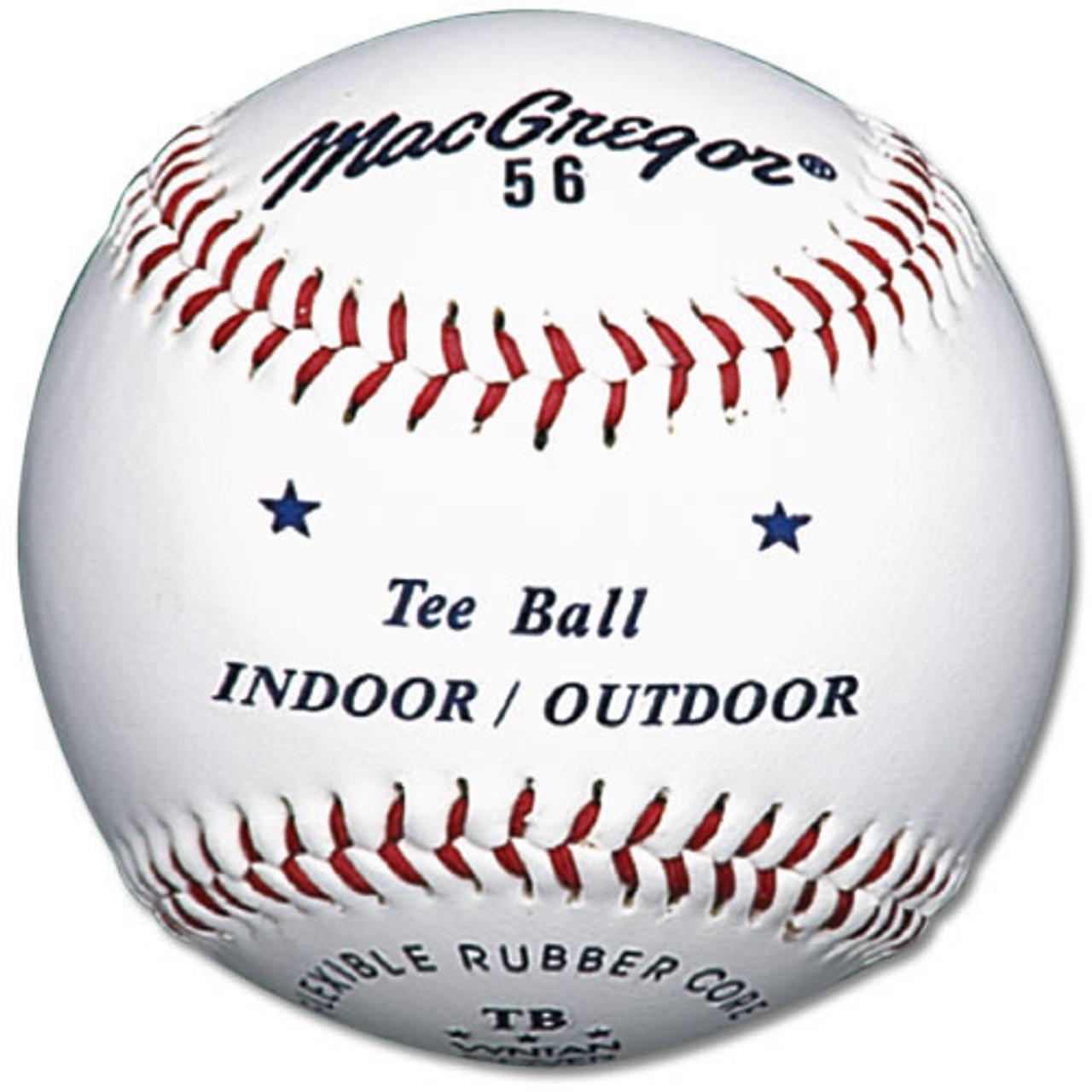 MacGregor #56 Official Indoor/Outdoor Tee Balls