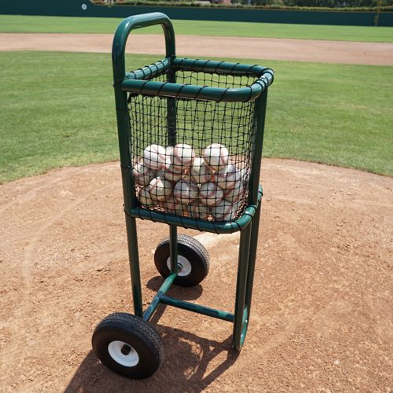 Baseball Batting Practice Ball Cart
