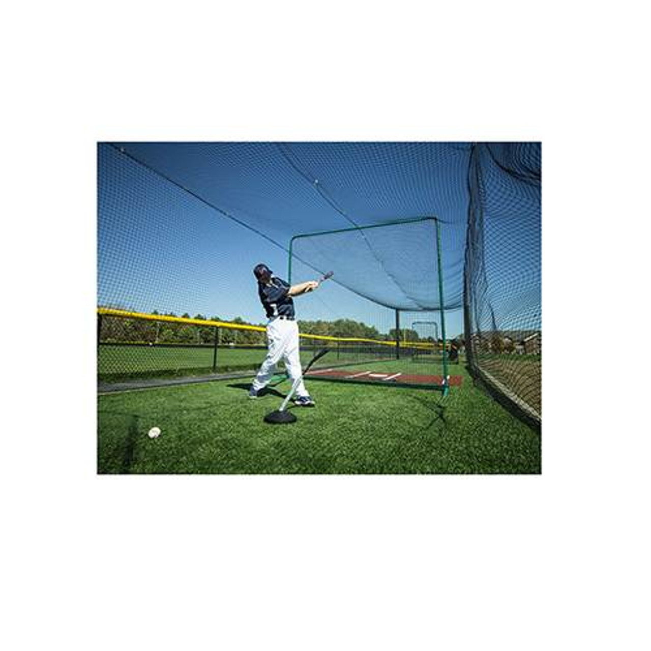 The PVTee baseball batting tee