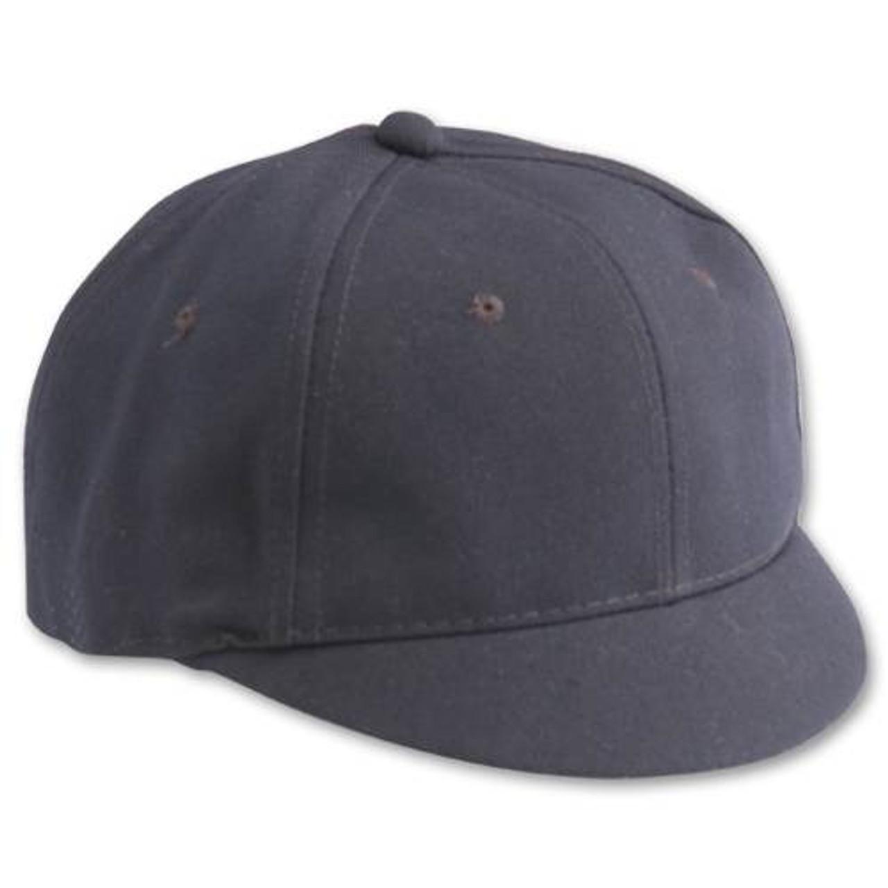 Baseball Umpire Short Bill Cap - Navy