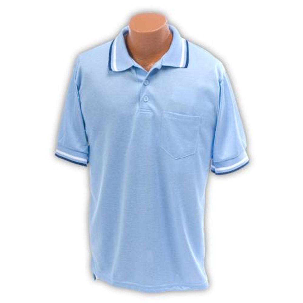 Baseball Umpire Shirt Light Blue XXL