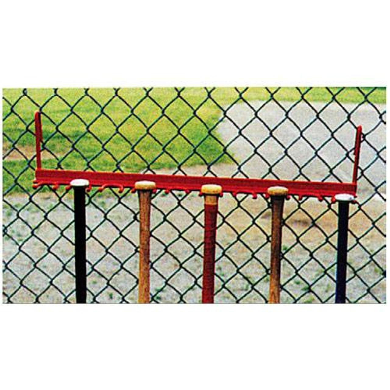 Fence Bat Rack