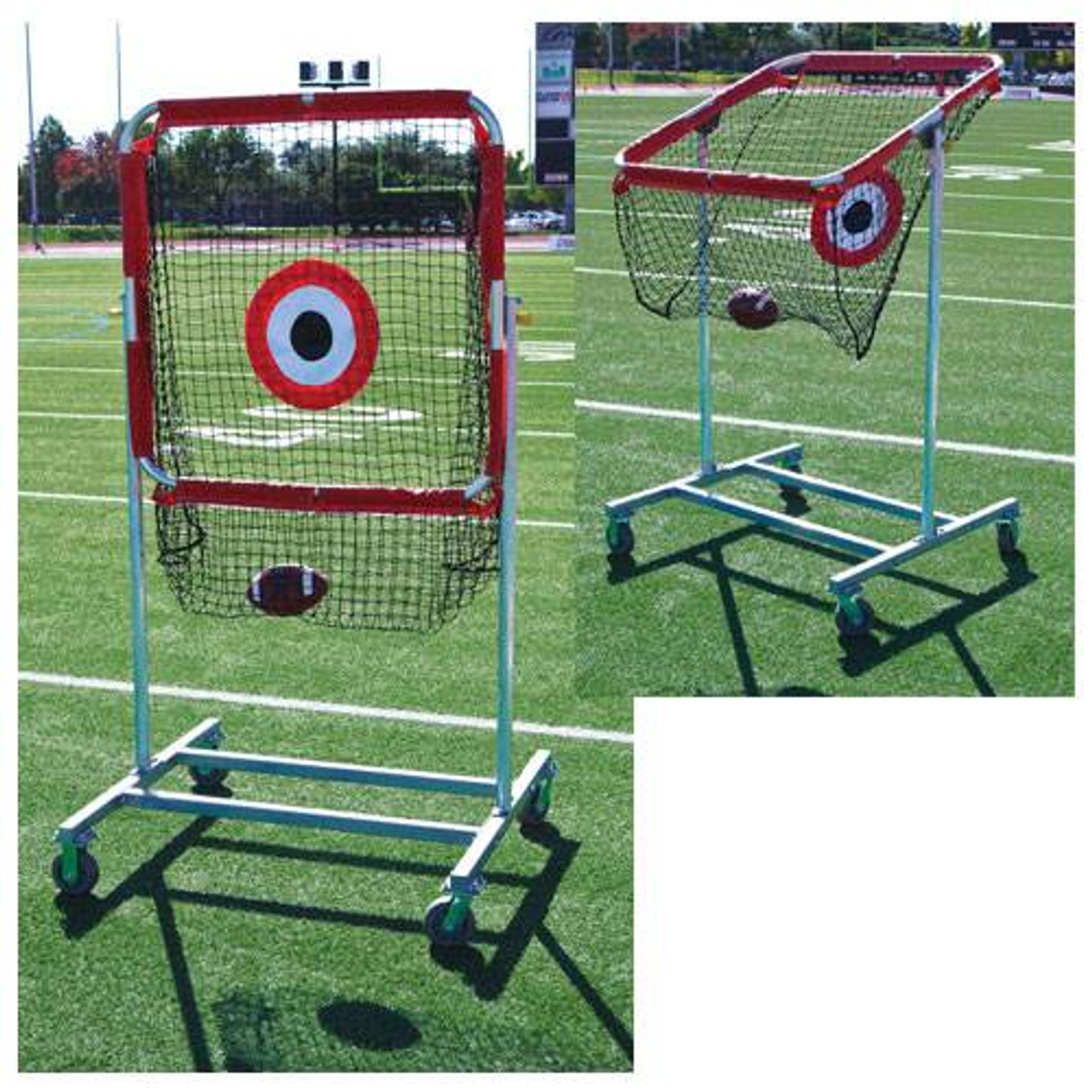 football QB-1 PASS AND SNAP TRAINER