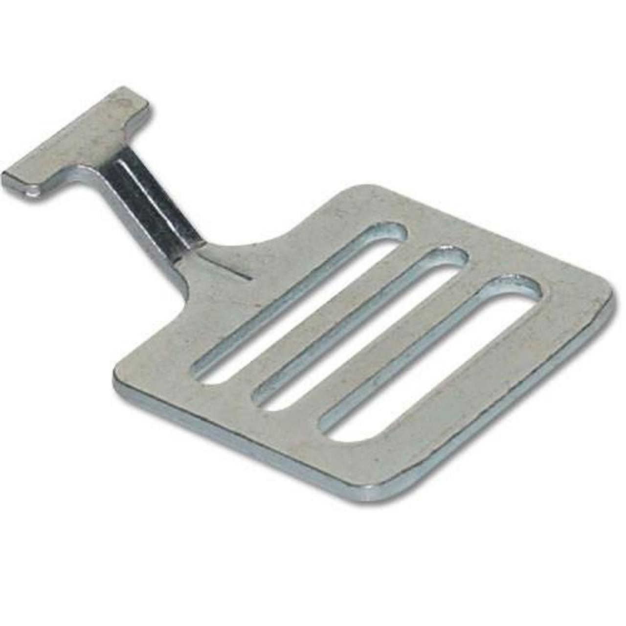 1 in. Metal Football Shoulder Pad T-Hooks (50-Pack)