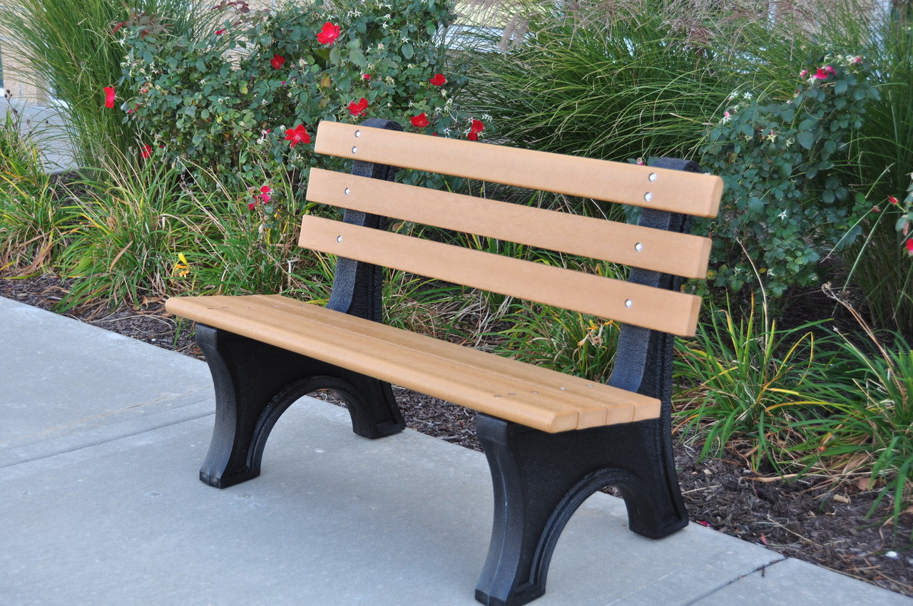 Comfort Park Avenue Recycled Plastic Park Benches Buy Outdoor And Park Bench