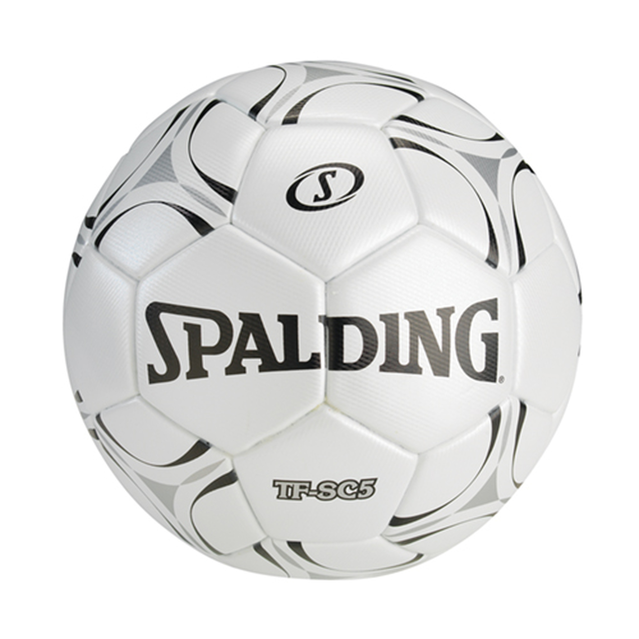 Spalding TF-SC5 Soccer Ball White/Black Sz 5