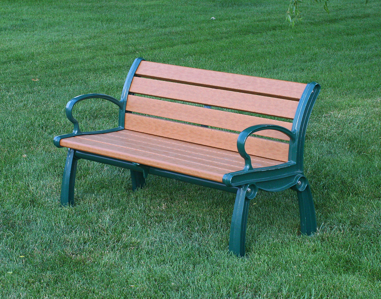 Heritage Recycled Plastic Outdoor And Park Bench 4