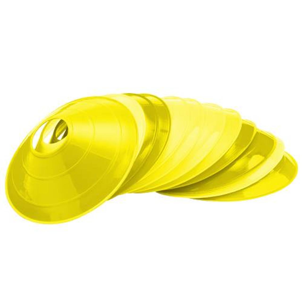 Yellow Low Profile Cones - Dozen