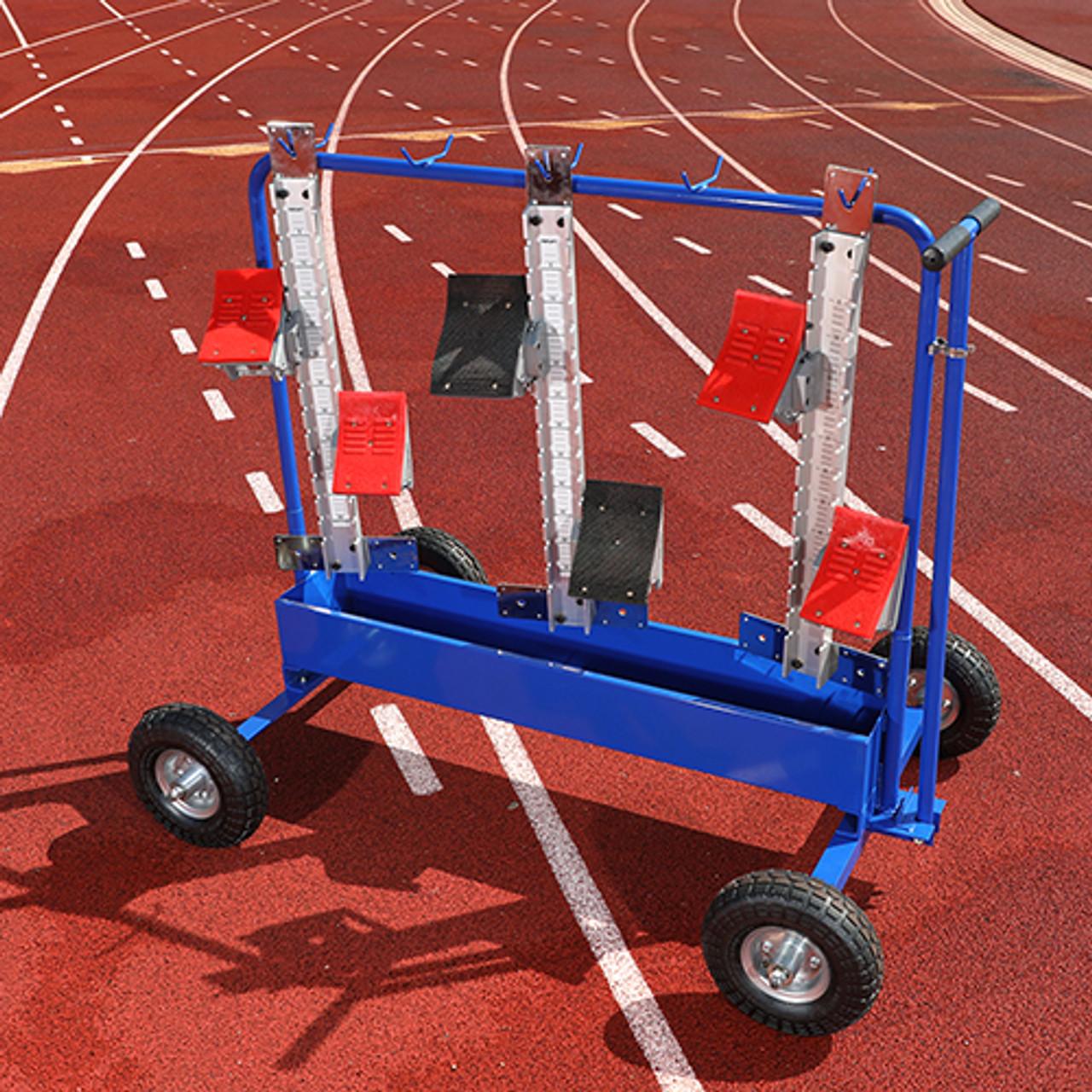 Track Starting Block Cart