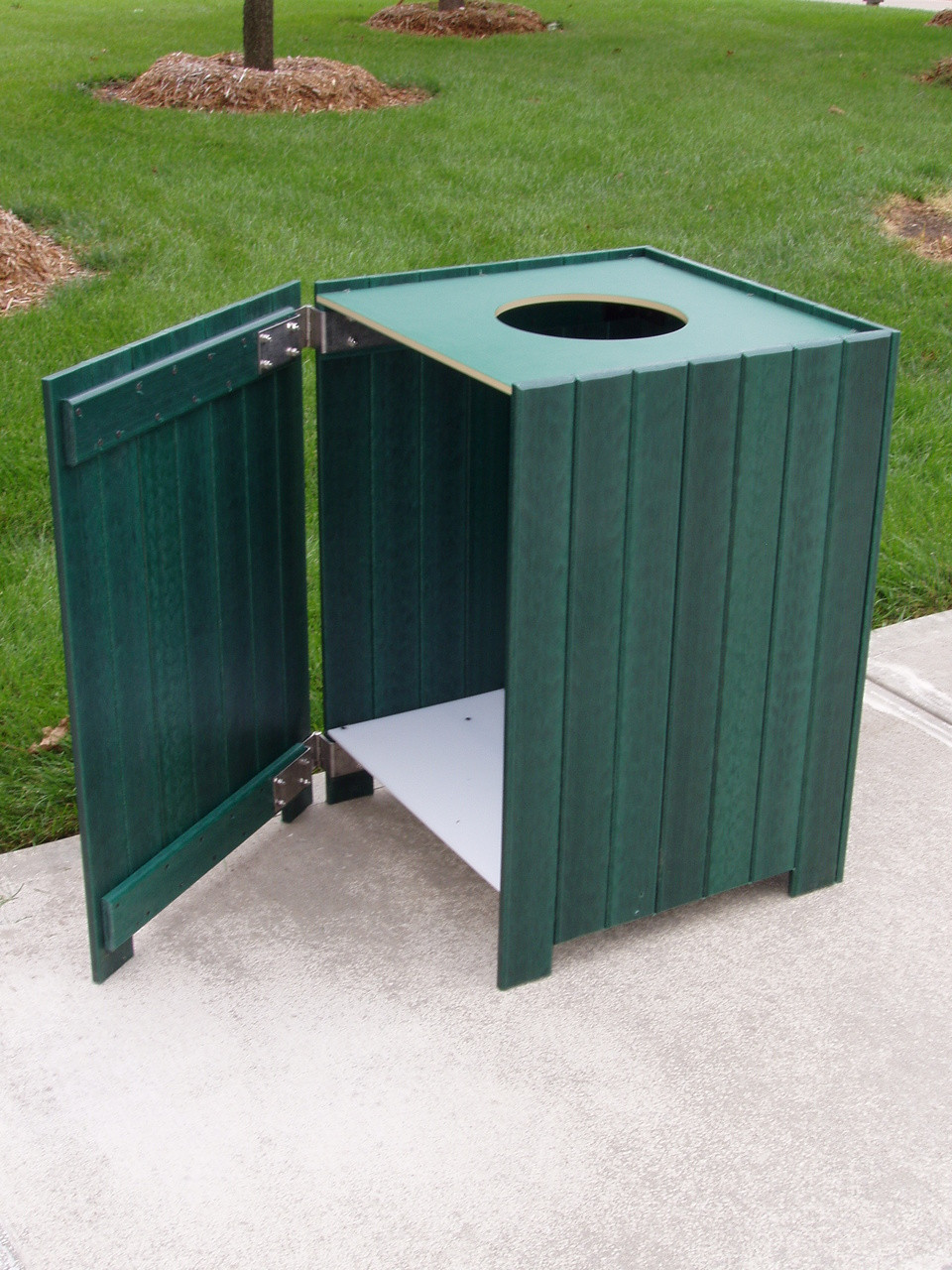 Standard Square Receptacle - 55 gallons