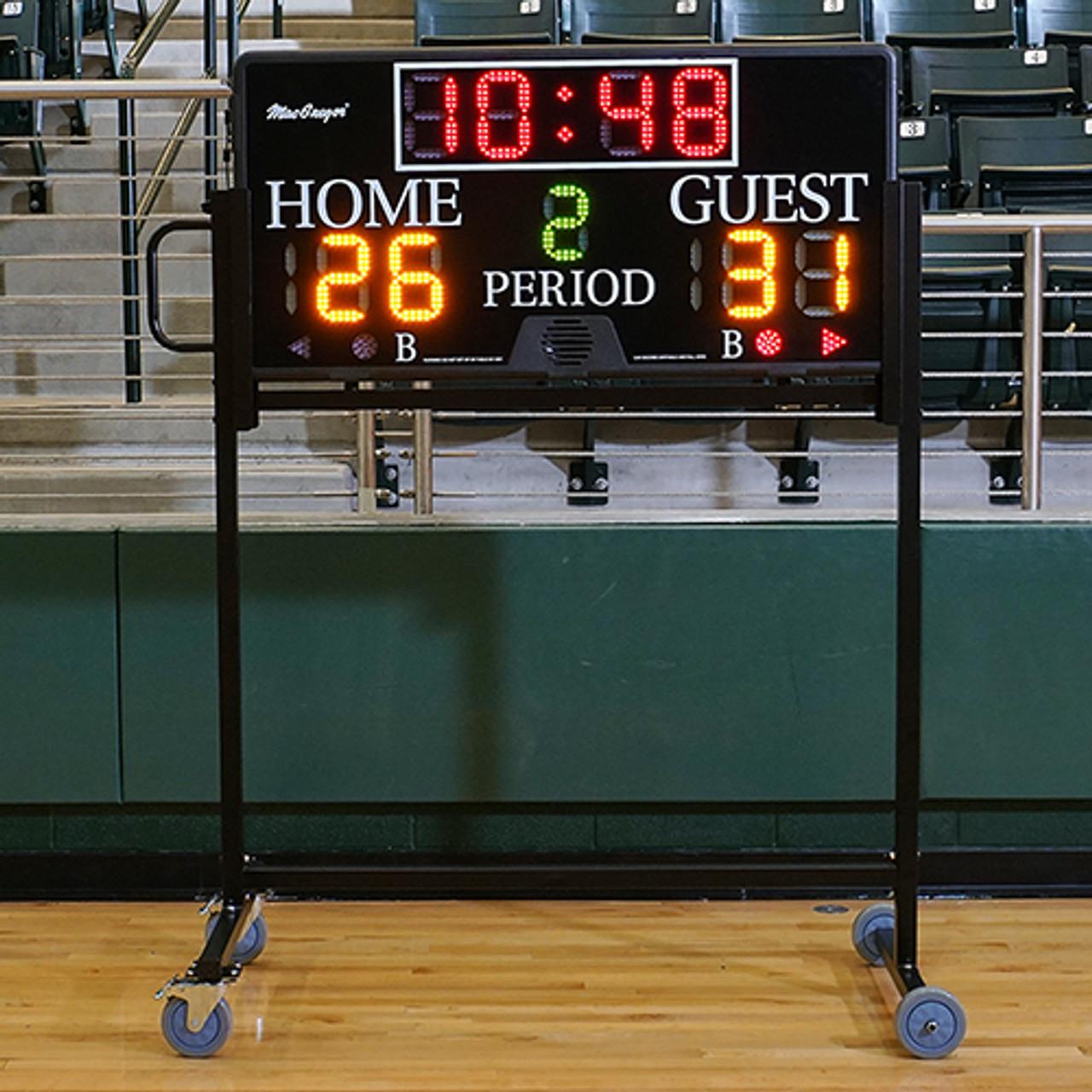 MacGregor 4' x 2' Electronic Multi-Sport Indoor Scoreboard