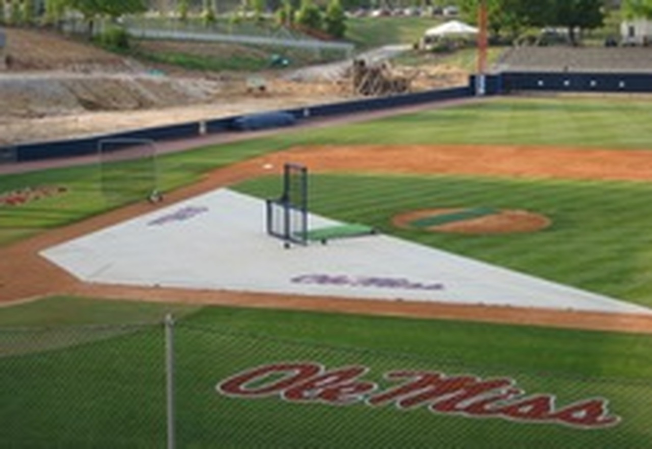 Baseball Field Covers Weighted Infield Protector 15'x24'x54'