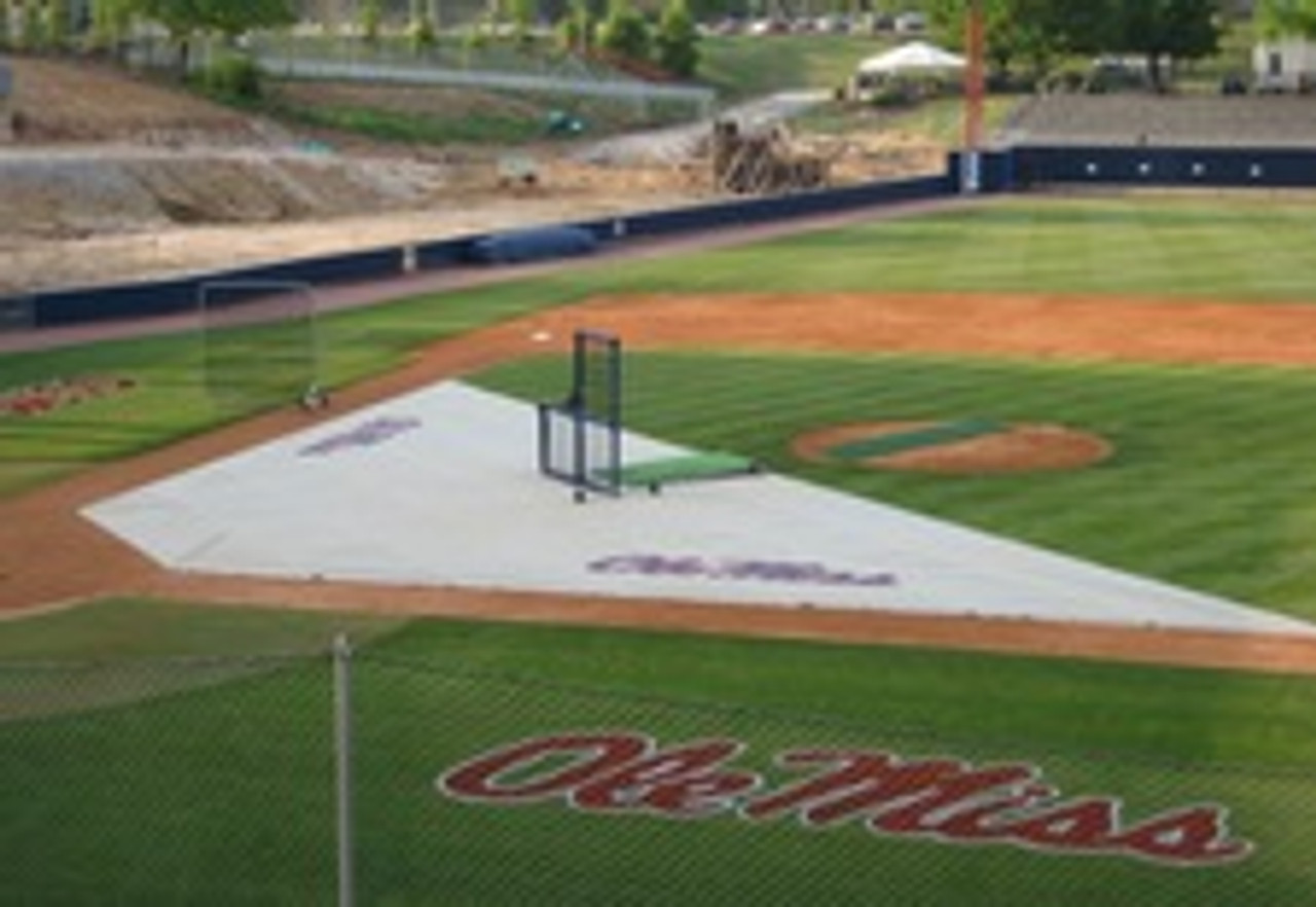 Baseball Field Covers Weighted Infield Protector  20'x20'x60'