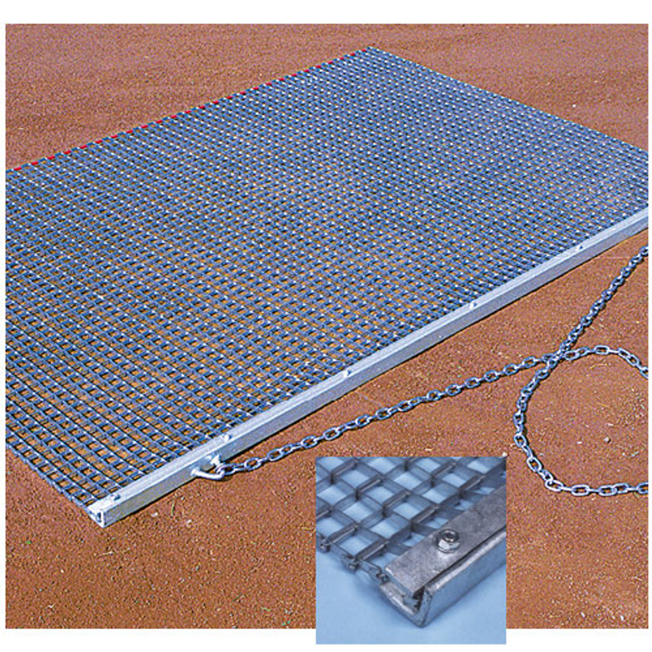 Baseball infield heavy duty drag mat