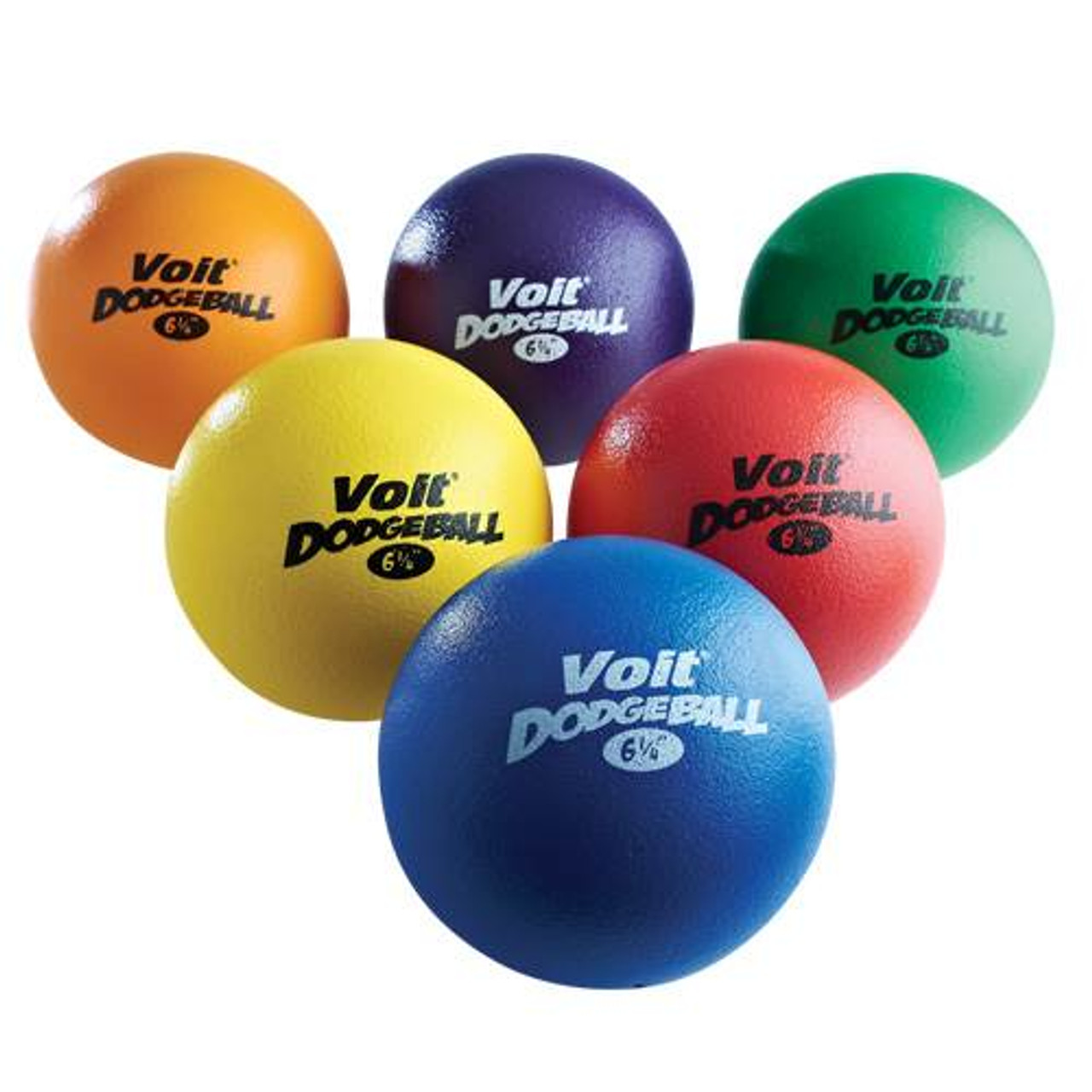 "Voit Tuff 6 1/4"" Dodgeball - Color My Class"