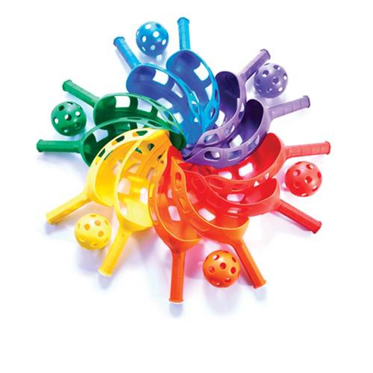 Fun-Air Scoop Ball Set of 6