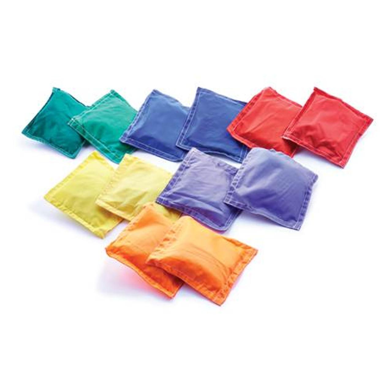 "GameCraft 5"" Nylon Bean Bags - Prism Pack"
