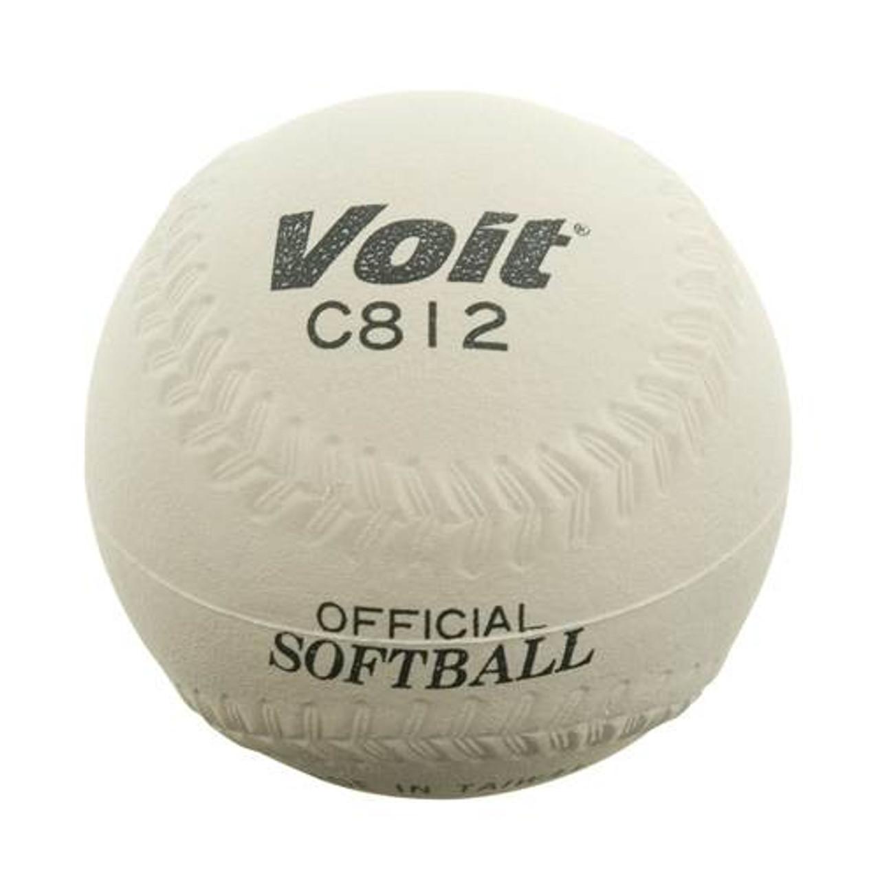 Voit® 12'' Sponge Center Softball - White