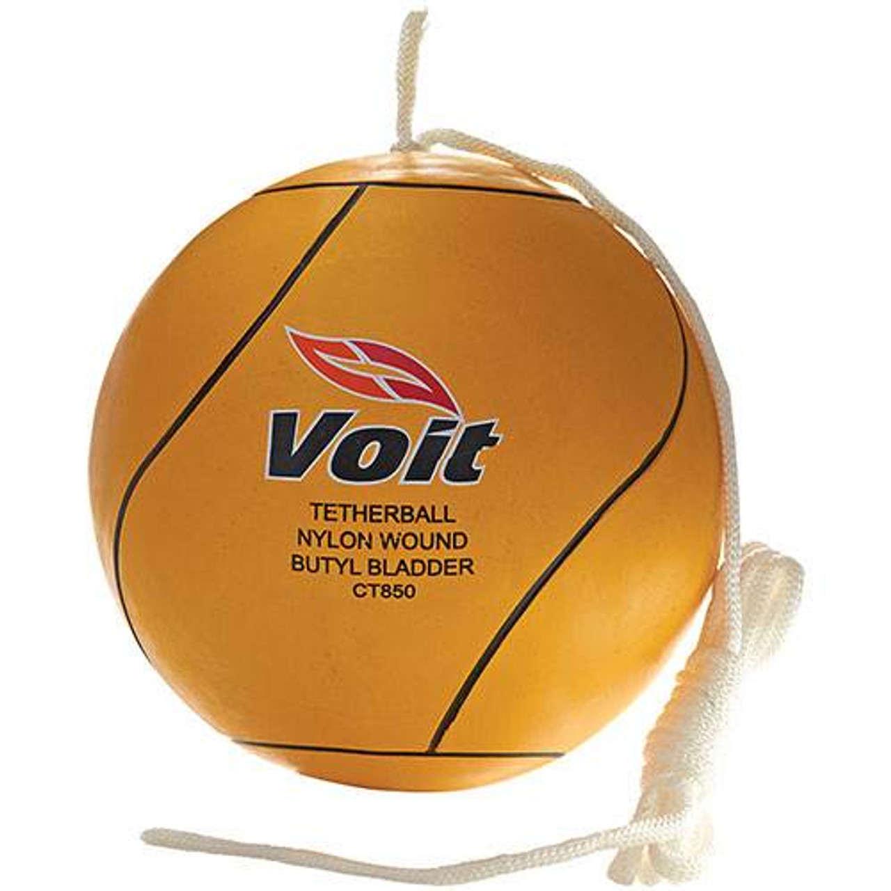 Tetherball with Rubber Cover