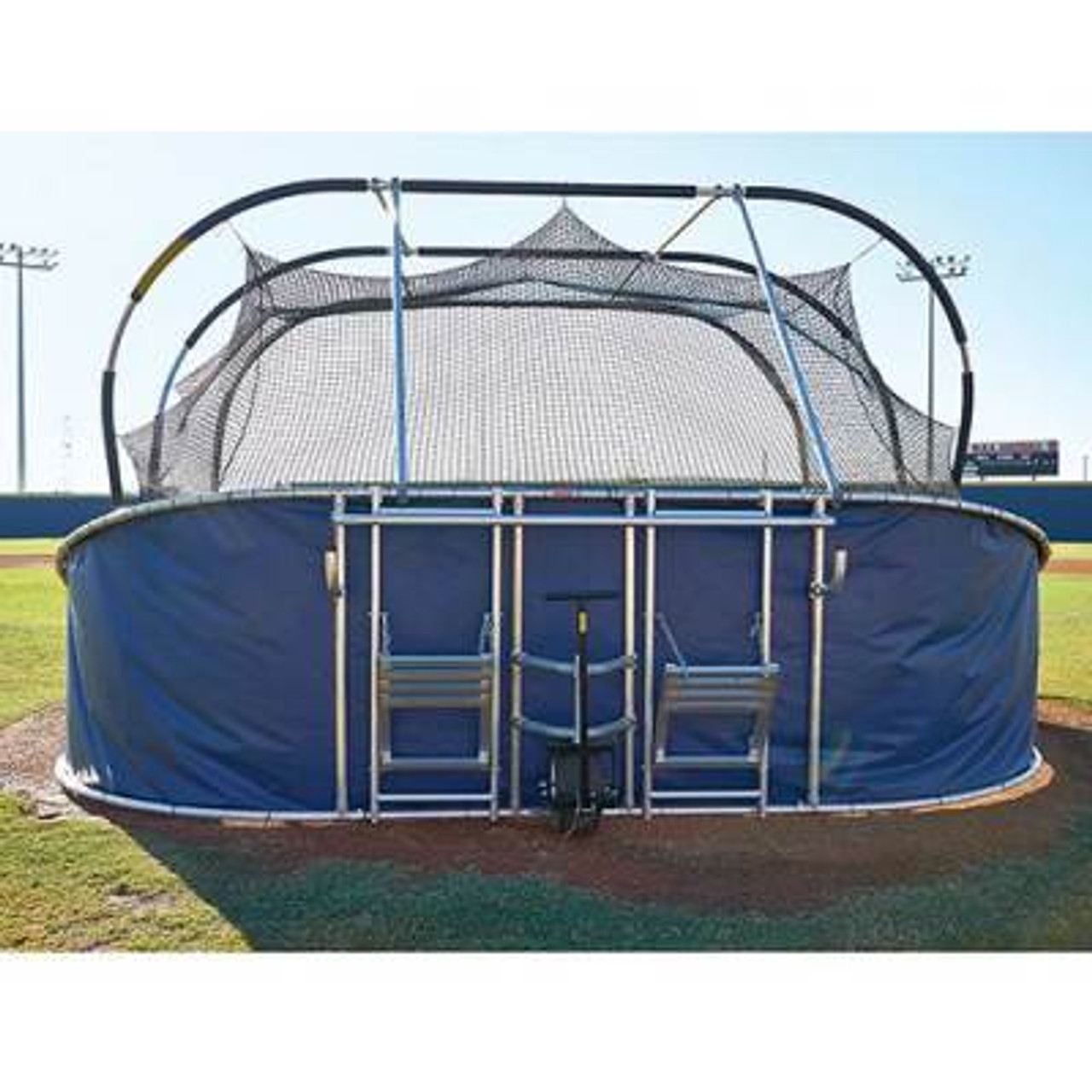 BIG BUBBA Elite Batting Cage2