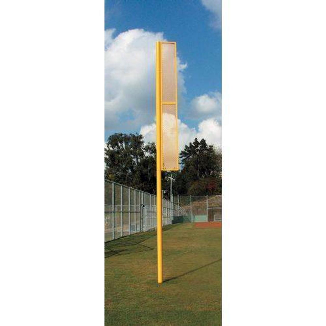 Professional 20' Foul Pole